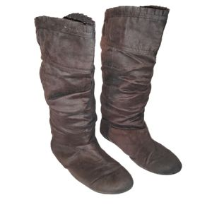 Cloud Walkers Slouchy Wide Calf Boots